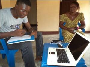 Jean macht eine Ausbildung zum Informatiker